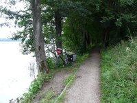 Cycle track outside Olecko