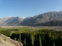 Wakhan Valley view from Ishkashim