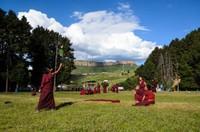 Buddhist monks, Kirti Gompa