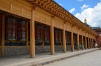Prayer wheels, Labrang monastery