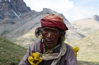 Pilgrim on the Kailash kora