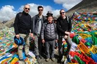 Group photo, Drolma la pass (5600m)
