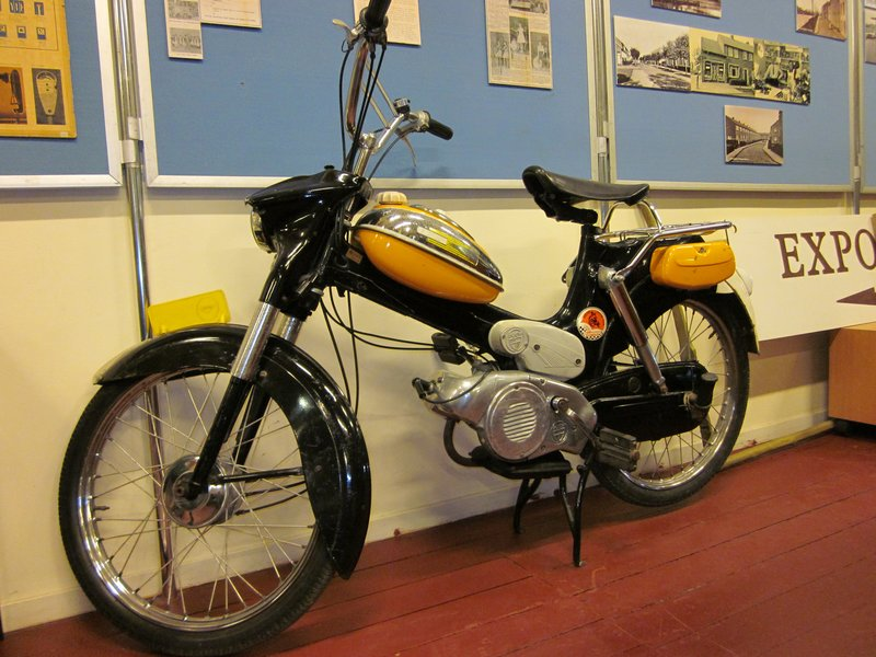 My Puch moped