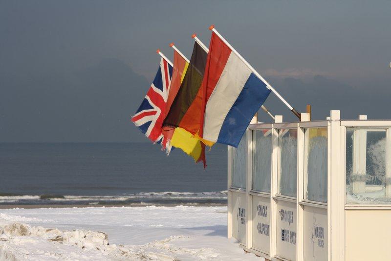 Icecold beach