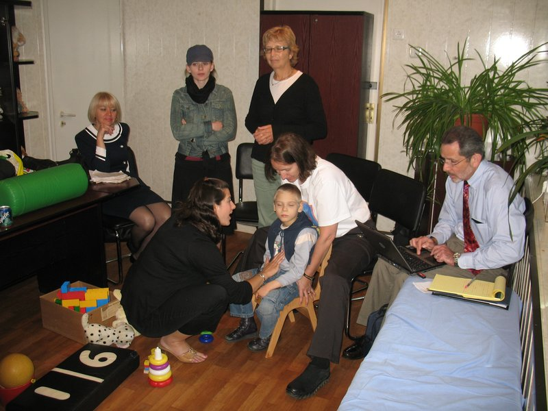 Speech Treatment with OT co-treat