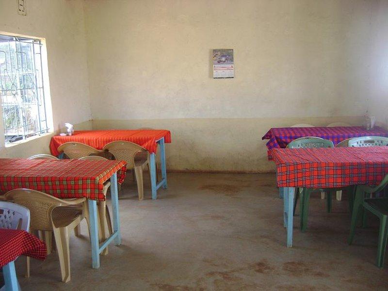 masa restaurant in namanga, kenya