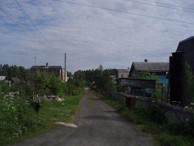The dacha village