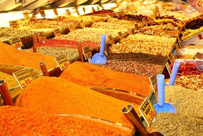 Spices at the Spice Bazaar