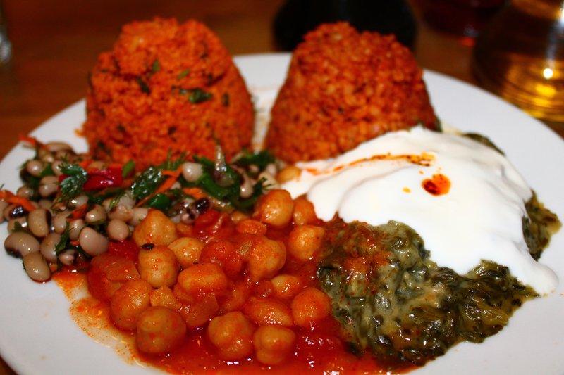 Amazing Turkish dinner
