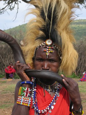 The Masai People Demonstrate Their Greatness