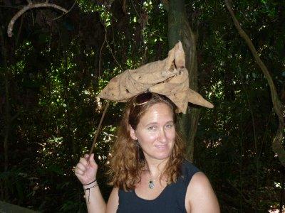 Sara's jungle queen hat