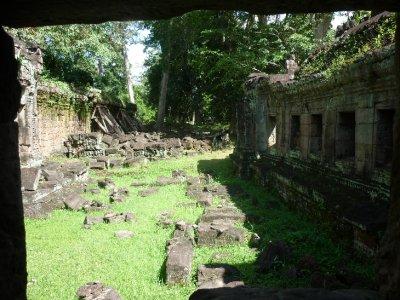 Preah Khan interior ruins