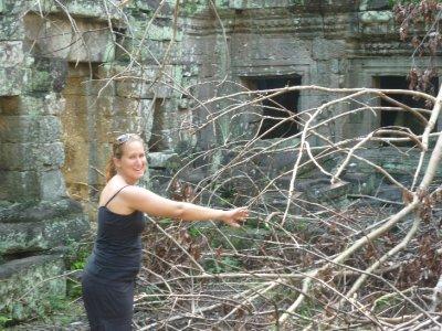 Sara explores Preah Khan