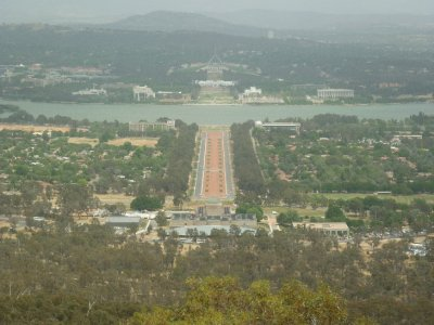View from Mt. Ainsley- Canberra