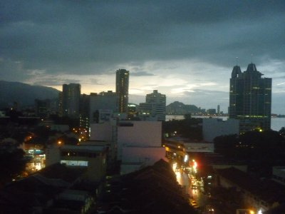 View from Oriental hotel