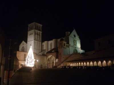 St. Francis Basilica night