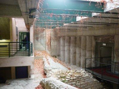 Roman dated ruins
