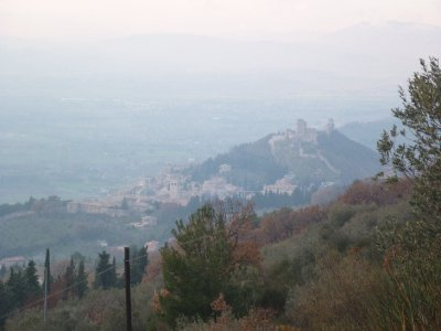 Subasion view of Assisi