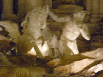 Trevi sculptures