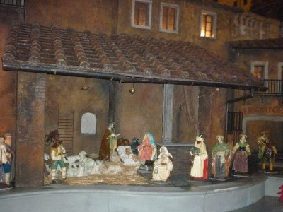 spanish steps nativity