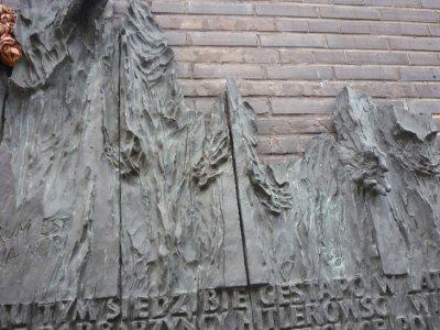 Memorial on Gestapo building