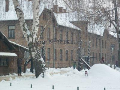 Camp I barracks