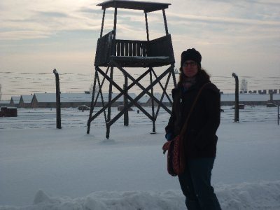 Sara & guard tower camp II