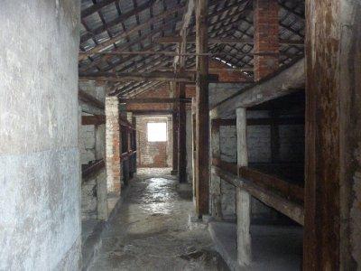 Inside brick barrack camp II