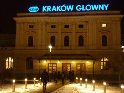 Krakow Main train station