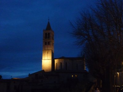 Assisi night view