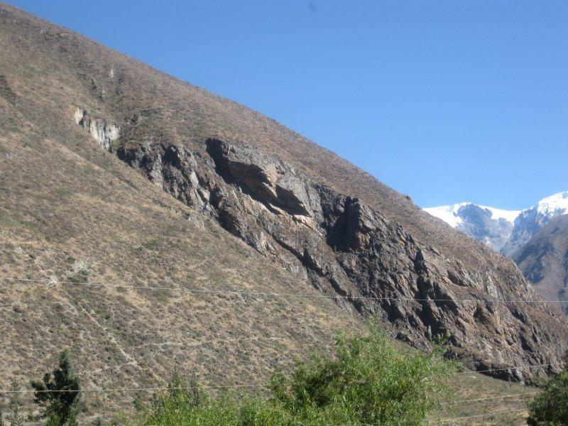 on the way to Machu Pichu