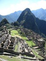 Machu Pichu from above