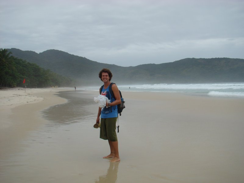 Lopes Mendes, best surf beach in Brazil