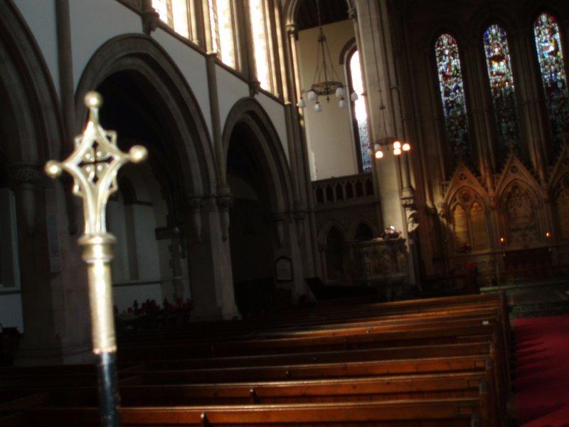 Inside St. Matthews Church