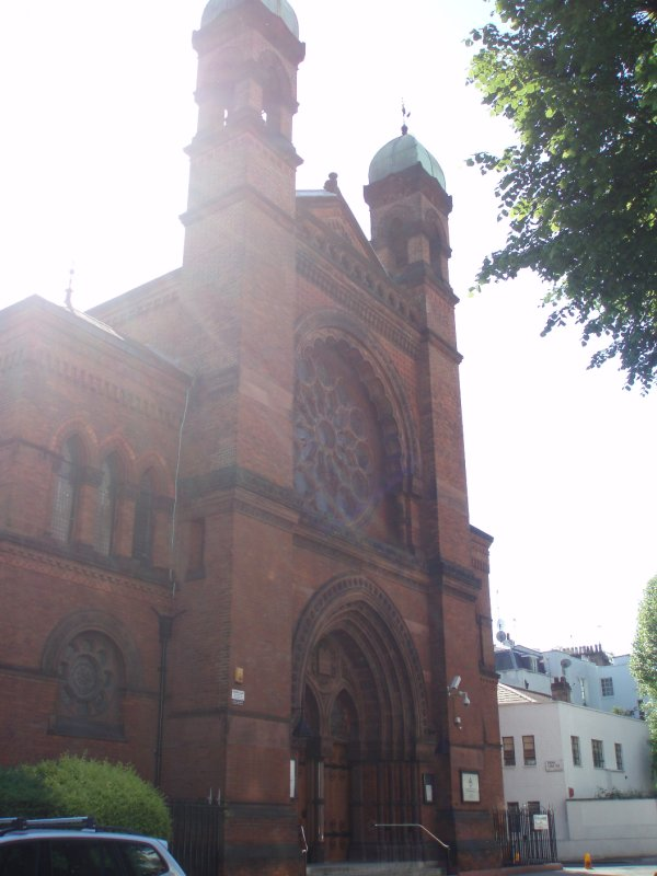 Synagogue by our apartment