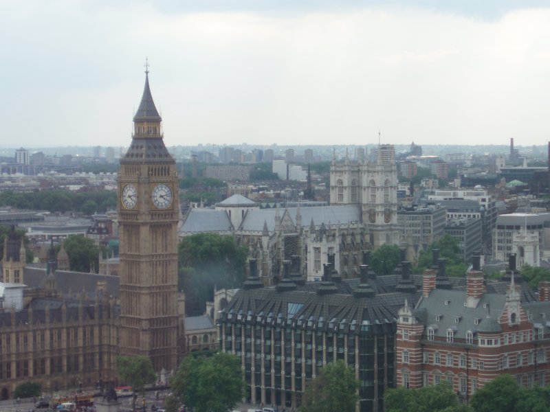 Parliament Square from the London Eye