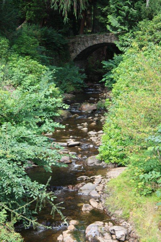 Stream at Blair castle