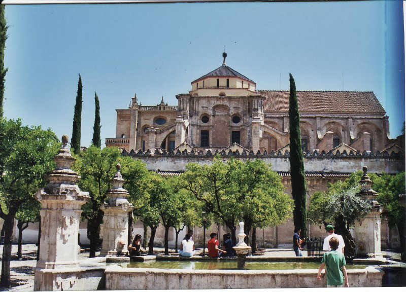 Cordoba Mezquita Patio of the Oranges