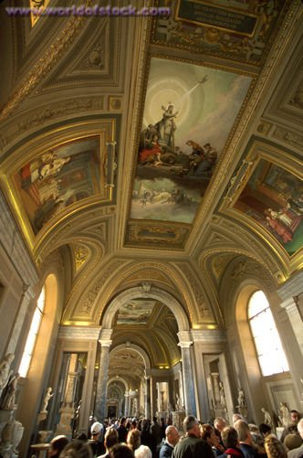 Vatican Museums  ceiling 2