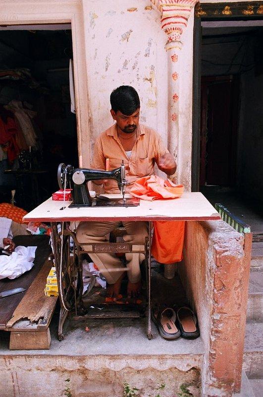 Tailoring Varanasi style
