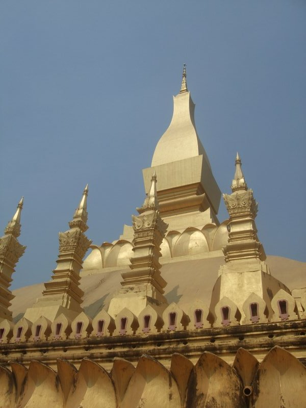The Stupa at Pha That Luang