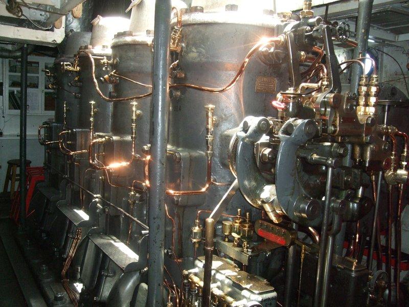 Engine Room of the SS Yavari