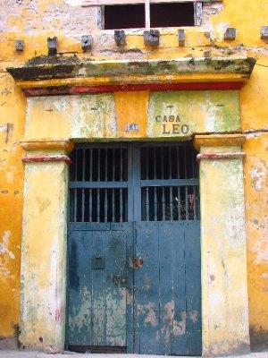 Cartagena doorway