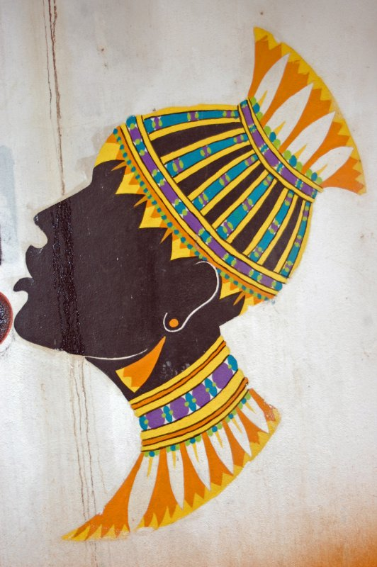 Wall painting in Manzini