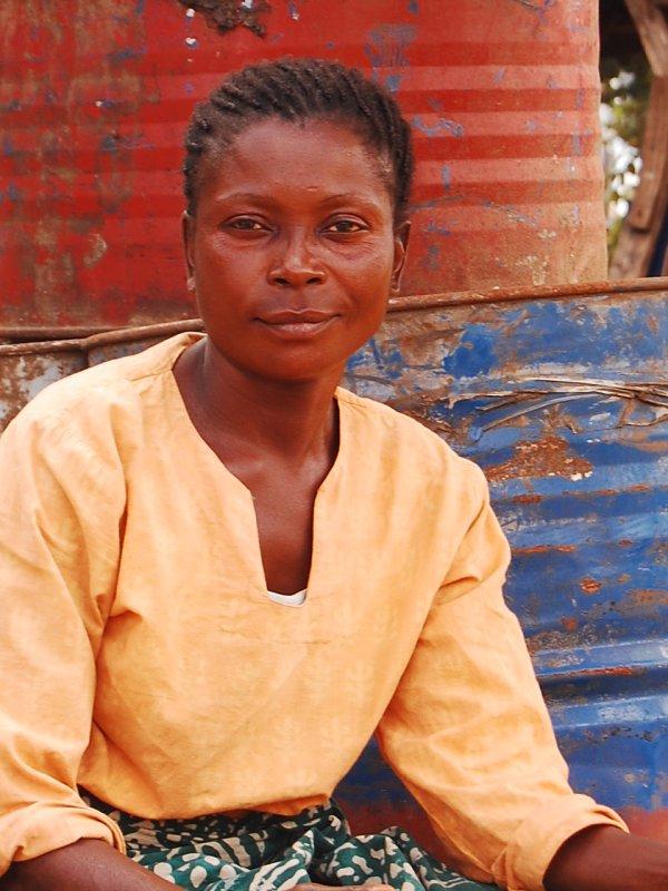 Street vendor in Lusaka