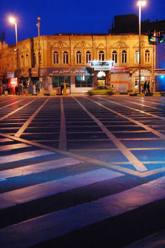 Tabriz at night