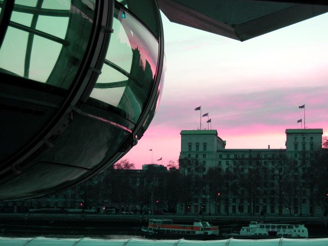 Detail of the London Eye