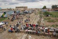 Main railway in Lusaka
