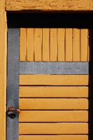 Yellow Door detail