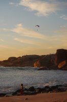 Paragliding over Cape Town